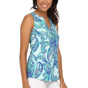 Lilly Pulitzer keep it current Marlowe top
